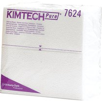 KIMTECH PURE* Cleaning Wipers - 1/4 Fold / White