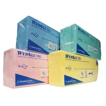 Wypall X50 Cleaning Cloths Interfolded Green 1Ply 6X50