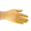Yellow Vinyl Powdered Disposable Gloves