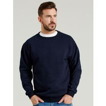 SWEATSHIRT NAVY P/CTN 4XL
