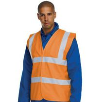 ORANGE 2 BAND HIVIS W/COAT XLGE
