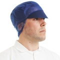 D89280HP PAL PEAKED SNOOD CAP NAVY 5X100