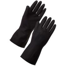 Heavy Duty Rubber Chemical Resistant Gauntlets