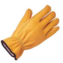 KeepSAFE Leather Lined Driving Glove