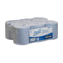 SCOTT® ESSENTIAL Hand Towels - Roll / Blue