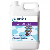 Cleanline Lemon Floor Gel 5L