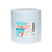 WYPALL* L10 EXTRA+ Wipers - Large Roll / Blue
