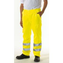 KeepSAFE EN471 High Visibility Polycotton Cargo Trousers - Tall