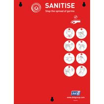 SC Johnson Professional Single Zone SANITISE Board - Board Only