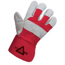 KeepSAFE Split Leather Rigger Glove