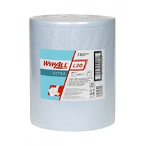 WYPALL* L20 EXTRA+ Wipers - Large Roll / Blue
