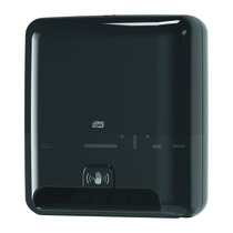 Tork Matic Hand Towel Roll Dispenser with Intuition Sensor Black