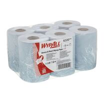 6220 WypAll Reach Service & Retail Wiping Paper - Centrefeed / Blue