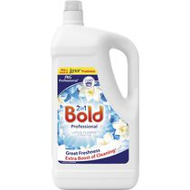 P&G Professional Bold 2 In 1 Detergent & Fabric Softener Crystal Rain & White Lily 5L