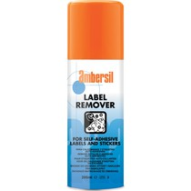 AMBERSIL LABEL REMOVER 200MLX12